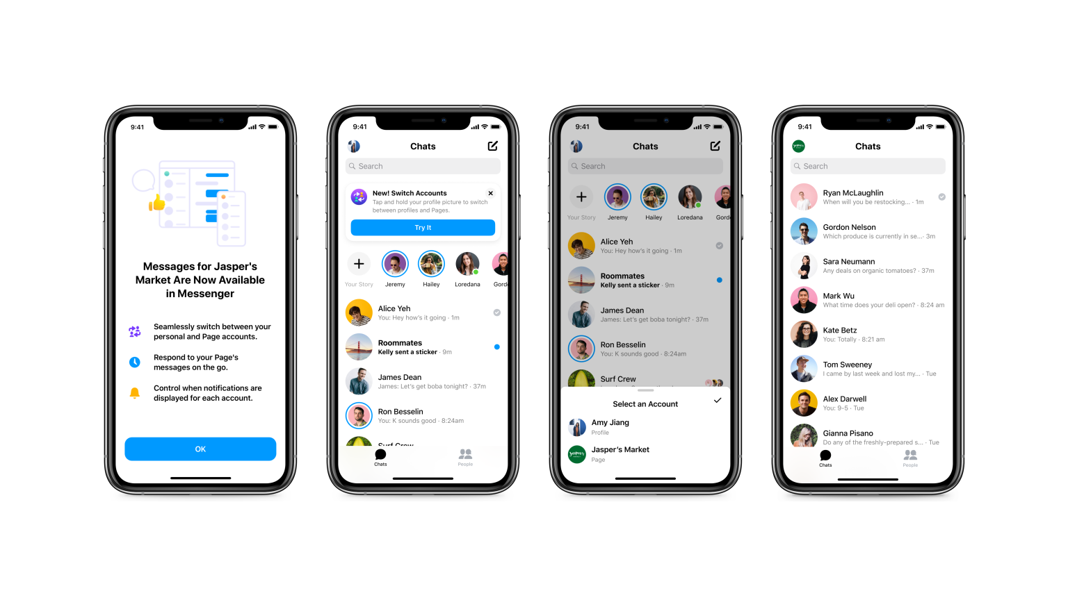 Facebook lancia in Messenger la casella di posta integrata per le aziende